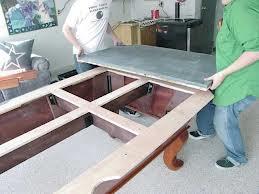Pool table moves in Lansing Michigan