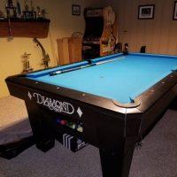 7Ft Diamond Pro Am Pool Table