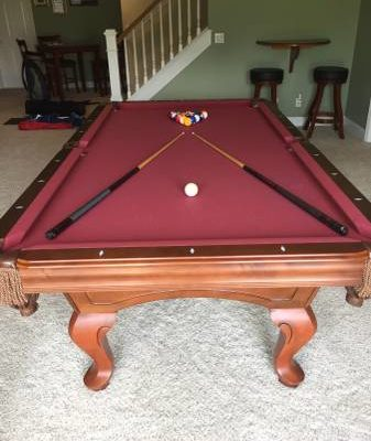 World of Leisure Slate Pool Table