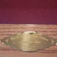 "Beautiful 8' Pool Table 1"" Slate"