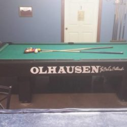 9' pro Pool Table