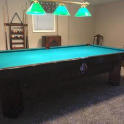 Brunswick Chateau Pool Table