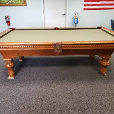 Fischer Maple Pool Table