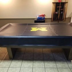 3/4 Slate Pool Table 8ft