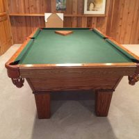 Olhausen Regulation Size Pool Table
