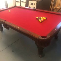Craftsmanship Pool Table