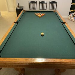 Brunswick Manchester Premier Oak 8 ft. pool table